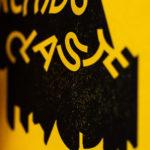 vieille insulte - orchidoclaste - casse couilles - letterpress lyon - Super Marché noir