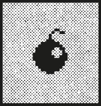 Super marché noir - Virus informatique - humour noir - satyrique - ironie - dadaisme - dérision - affiche atypique - letterpress lyon - impression d'art - estampe - eshop