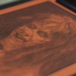 Linda - Exorciste - Affiche letterpress - papier gmund - Super Marché noir