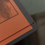 Linda - Exorciste - gaufrage sec - Affiche letterpress - papier gmund - Super Marché noir
