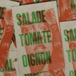 punchline - banalités - kebablovers - kebab - rocky horror picture show - susan sarandon - LGBT - dragqueen - letterpress - vert fluo - Super Marché noir